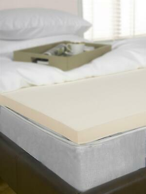 "4"" King Bed Size Memory Foam Mattress Topper, Visco, Orthopaedic, 10cm Deep"