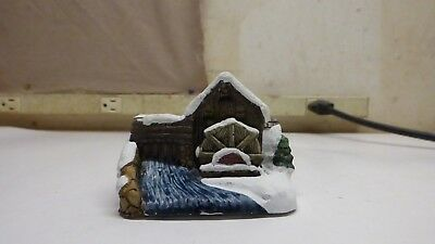 RSVP INC. The American Rustic Series Country Christmas Cottages Grist Mill