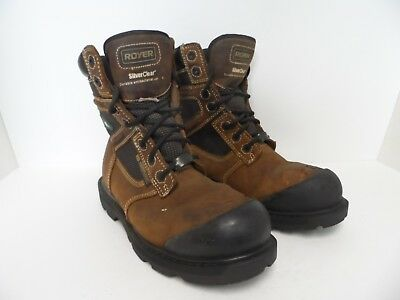 90594c948bc ROYER SAFETY / Work Boots 10-8552 EEE Metal Free 8 inches waterproof ...