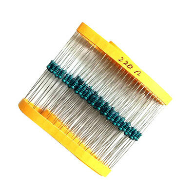 Carbon Film Resistors 1/4W 0.25W - Full Range of Values - Various Pack Size