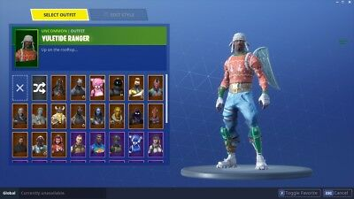 Christmas Skins.Fortnite Season 2 Christmas Skins Free V Bucks Glitch