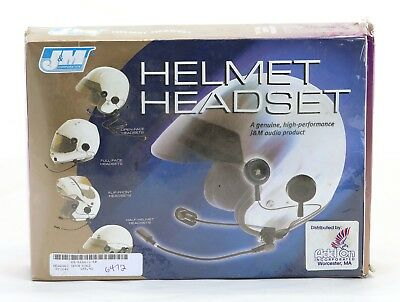 J&M Helmet Headset #HS-ECD271 with 8-pin connector