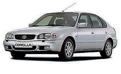 Manuale Officina Toyota Corolla 1997 - 2000 Workshop Manual Service