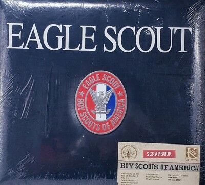 Eagle Scout Scrapbook Bsa Rare Boy Scouts Of America 12 X 12 Emblem