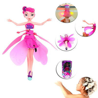 Flying Fairy Magic Doll Infrared Induction Control Dolls Fly Toy Xmas Gifts O7S9
