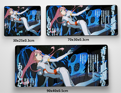 Darling in the FranXX Anime Game Mouse custom made PC Large Mats MP004