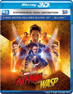 Ant-Man and the Wasp (Blu-ray 3D + Blu-ray) (Region Free) (2018) (NEW)