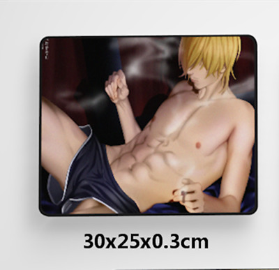 Sanji online Anime Game Mouse custom made PC Large Mats MP022