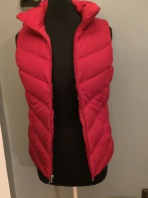 Lands/' End ~ HyperDRY™ Water-Resistant Women/'s 600 Fill Down Vest $50 NWT