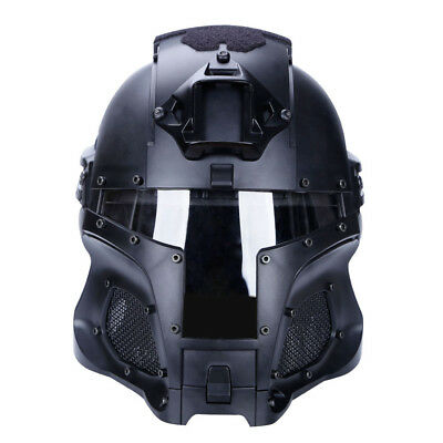 WST Helmet Airsoft Paintball CF Game Face Mask Tactical Protective Outdoor