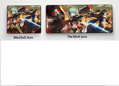 Sword Art Online online Anime Game Mouse custom made PC Large Mats MP026