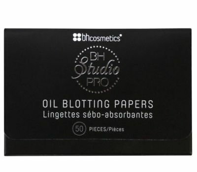 AUTHENTIC BH Cosmetics 50 Blotting Paper Sheets Brand New In Pack