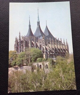 Postcard: Kutna Hora: St. Barbara's Cathedral: Un Posted