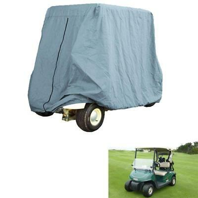 2 Seats Passenger Waterproof Golf Cart Storage Cover Fits EZ GO Club Car Yamaha