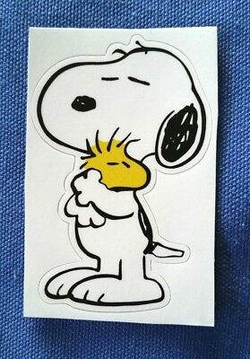 Snoopy Woodstock Peanuts PVC Sticker Waterproof Luggage Laptop Dog Cartoon Comic