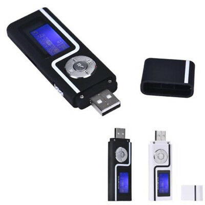 Mini USB Digital MP3 Music Player LCD Screen Support 32GB TF Card & FM Radio Set