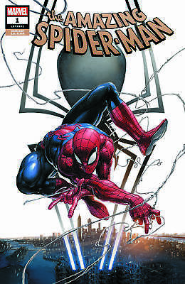 Amazing Spider-Man 1 Clayton Crain Exclusive Trade Variant Marvel 2018 NM