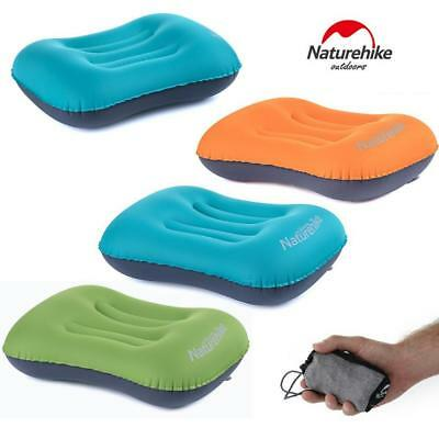 Naturehike Inflatable Pillow Travel Air Cushion Camping Office Car Head Rest
