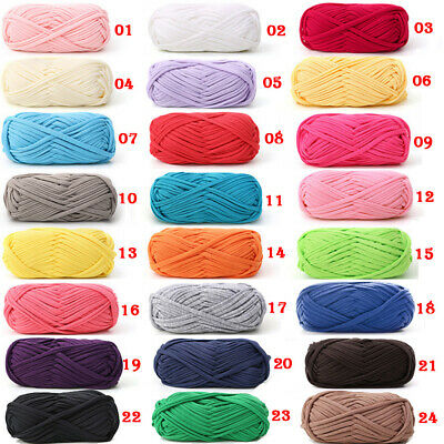 100g Crochet Cloth Carpets Yarn Cotton Wool DIY Hand-knitted Thick Knit Blanket