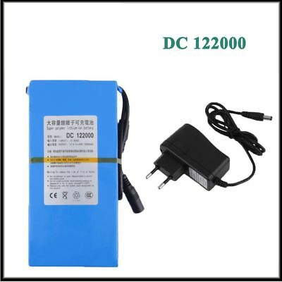 Portable Rechargeable Li-ion Battery DC12V 20000mAh DC122000 For CCTV Camera