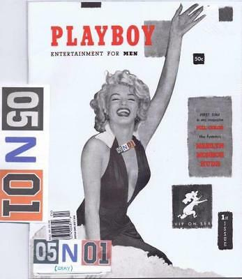 Marilyn Monroe Dec 1953 Playboy Magazine 1st Issue reprint Rare Collector's ED