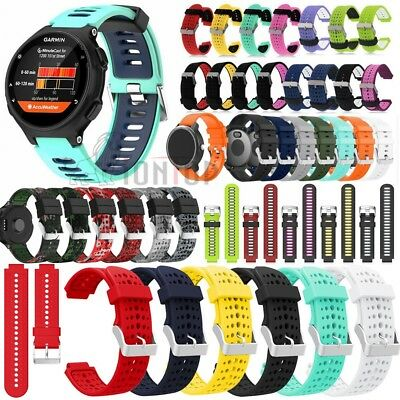Soft Silicone Strap Watch Band Bracelet For Garmin Forerunner 735XT/Vivoactive 3