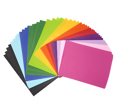Assorted A4 Size Tissue Gift Wrapping Paper Bright Colours Packing Sheets