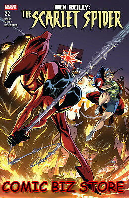 Ben Reilly Scarlet Spider #22 (2018) 1St Printing Bagged & Boarded Marvel Comics