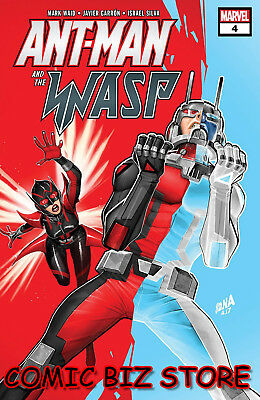 Ant-Man And The Wasp #4 (2018) 1St Printing Bagged & Boarded Marvel Comics
