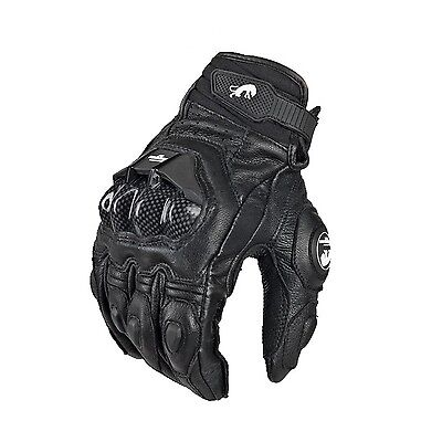 Motorcycle Gloves Cool Moto Racing Knight Leather Ride Bike Driving BMX ATV MTB