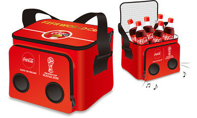 Coca-Cola soft Cooler Bag with speaker  23cm×8cm×9cm Japan limited item F/S