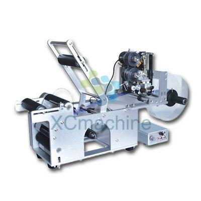 GLT-50D Automatic Round Bottle Labeling Machine With Date Code Printer Labeller