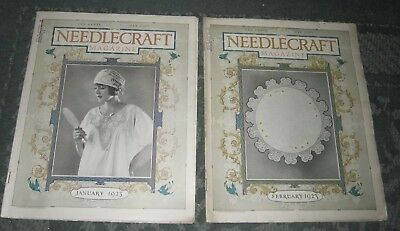 2 January 1923 And February 1923 Publications - Needlecraft