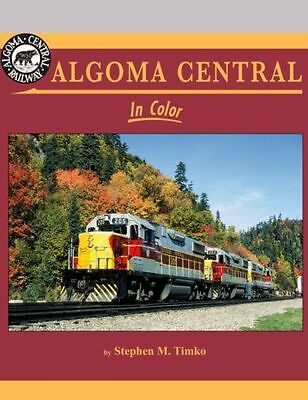 ALGOMA CENTRAL in Color: colorful all-EMD powered Railroad -- (NEW BOOK)