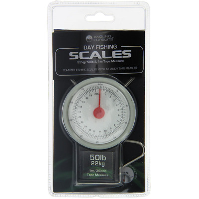 Ap Carp Pike Fishing Scales 50Lb / 22Kg Day Fishing Scales +Tape Measure