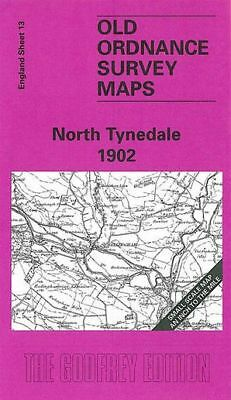 Old Ordnance Survey Map North Tynedale 1902