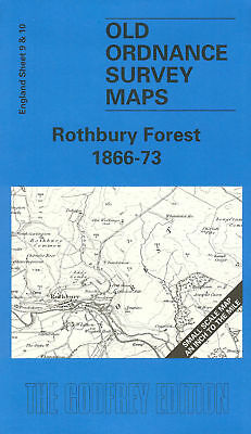 Old Ordnance Survey Map Rothbury Forest 1866-1873