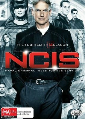 NCIS Complete Fourteenth 14th Season DVD NEW Region 4