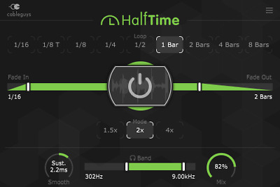 New Cableguys HalfTime, Instant Creative Half-speed Effect, Mac/PC, eDelivery