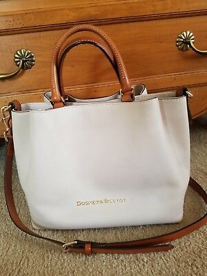 17885925852 DOONEY   BOURKE City Large Barlow Top Handle Crossbody Bag in Bone ...
