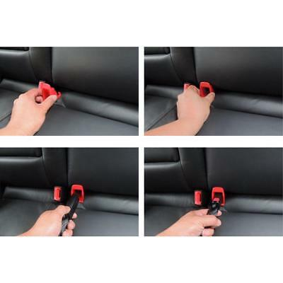 Universal Car Kids Baby Safety Seat Isofix Latch Belt Connector Guide Groove 2pc