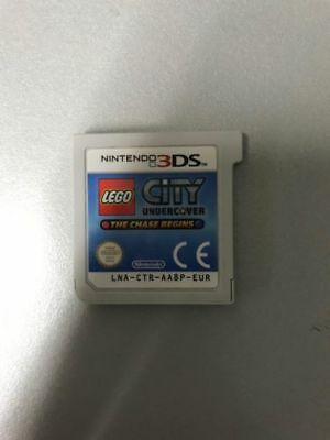 Nintendo 3Ds Lego City Undercover The Chase Begins Pal  Loose Solo Cartuccia
