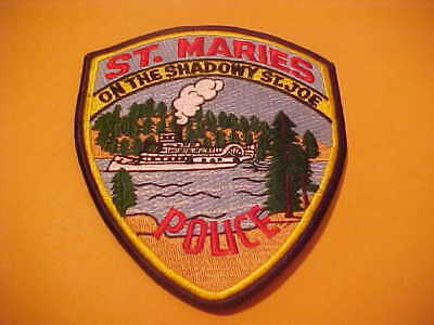 St. Maries Idaho Police Patch Shoulder Size Unused M