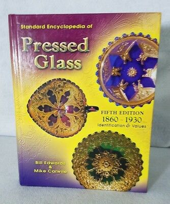 pressed glass fifth edition hard cover book