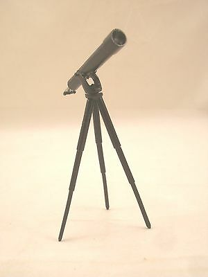 TELESCOPE / tripod  1/12 scale dollhouse cast metal miniature ISL2540