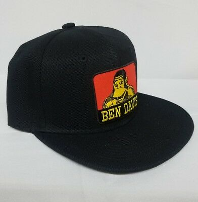 ed108728 TWO BEN DAVIS snapback hats solid hat and mesh hat - $37.00 | PicClick