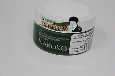 NARUKO Tea Tree Shine Control & Blemish Clear Night Gelly 80g Expedited Shipping