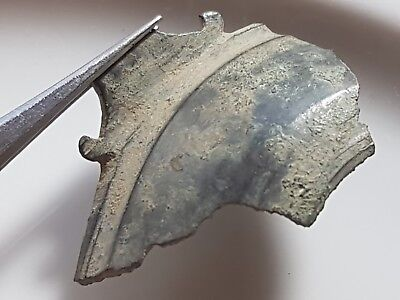 Roman Bronze PATERA Part ** Billon BRONZE ARTIFACT ** Rare Dish