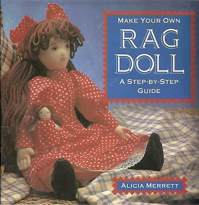 Make Your Own Rag Doll Soft Cover Sewing Booklet by Alicia Merrett