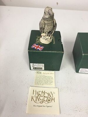 Harmony Kingdom  TALK OF THE TOWN Parrot w/ Box   Event Piece SIGNED